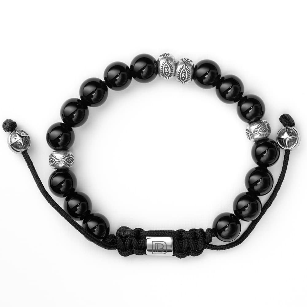 Photo of Onyx & Sterling Silver – 8 1/2