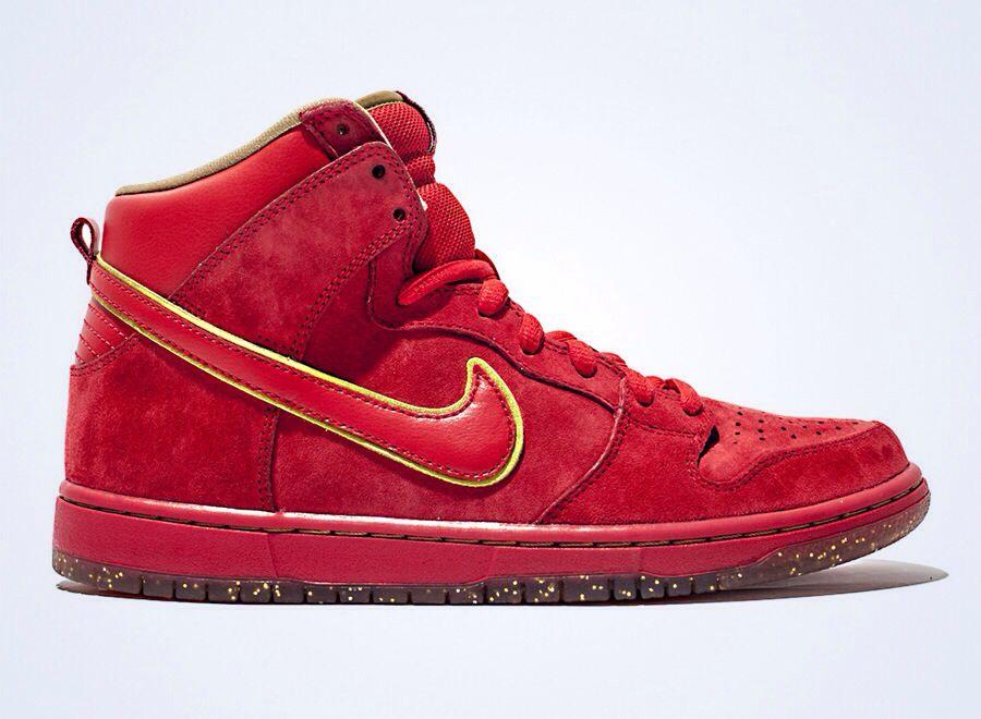 "Nike SB Dunk High Premium ""Red Packet"" Nike shoes cheap"