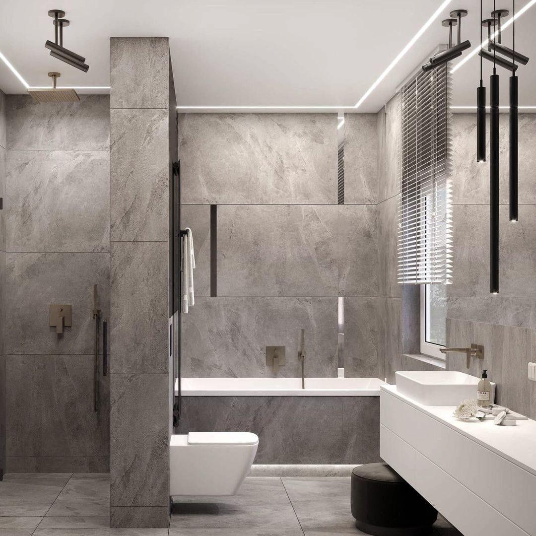 Hansgrohe Minimalistic Bathroom With Hansgrohe Me Https Www Davincilifestyle Com Hansgrohe Mini In 2021 Ideal Bathrooms Bathroom Design Bathroom Interior Design