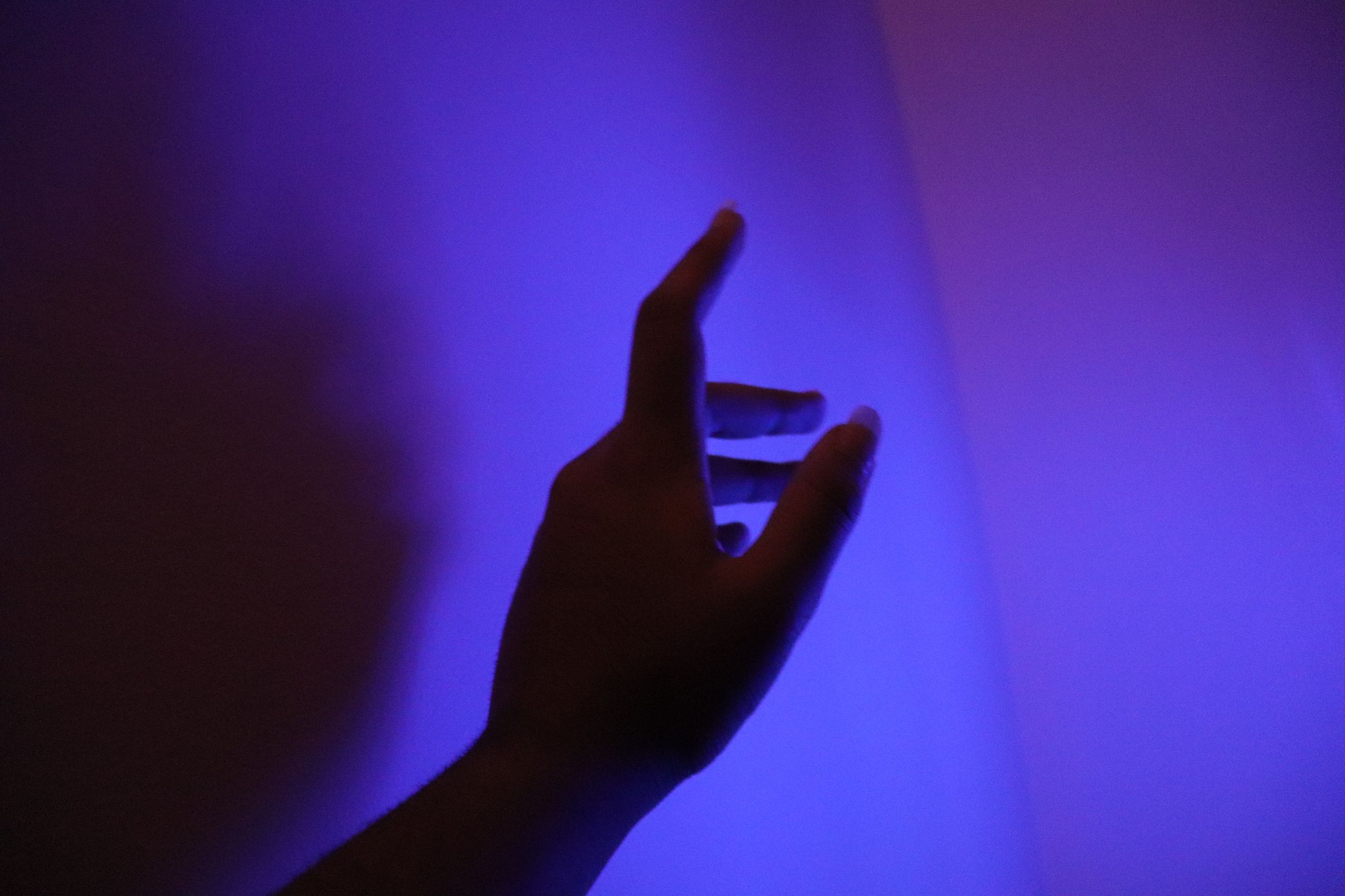 Aesthetics Hand Tumblr Pinterest Purple Light Edgy
