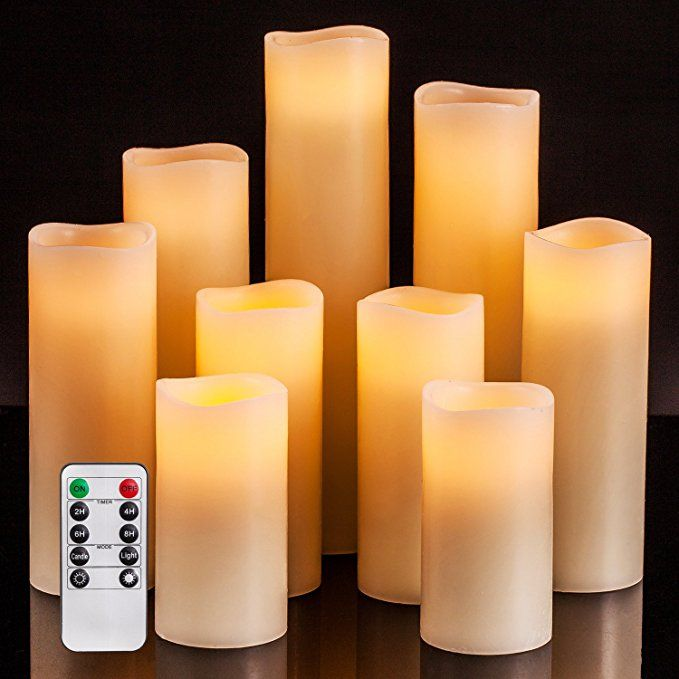 Flameless Candles Battery Operated Candles 4 5 6 7 8 9 Set