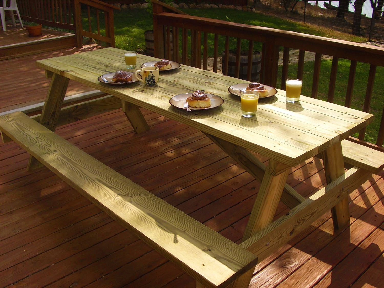 Free Woodworking Plans Build Your Own Picnic Table Outdoor