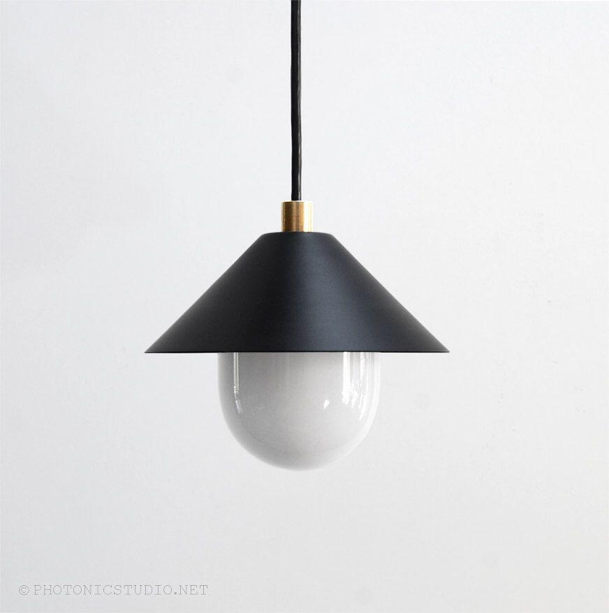 Modern Pendant Light Mid Century Minimal Lamp Br Ufo By Photonicstudio On Etsy
