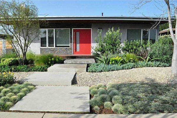 los angeles drought tolerant landscaping native garden parkway front yard. Black Bedroom Furniture Sets. Home Design Ideas