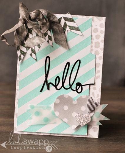happy world card making day: first love - Heidi Swapp