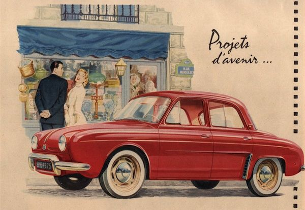France 1957 1960 Renault Dauphine Reigns
