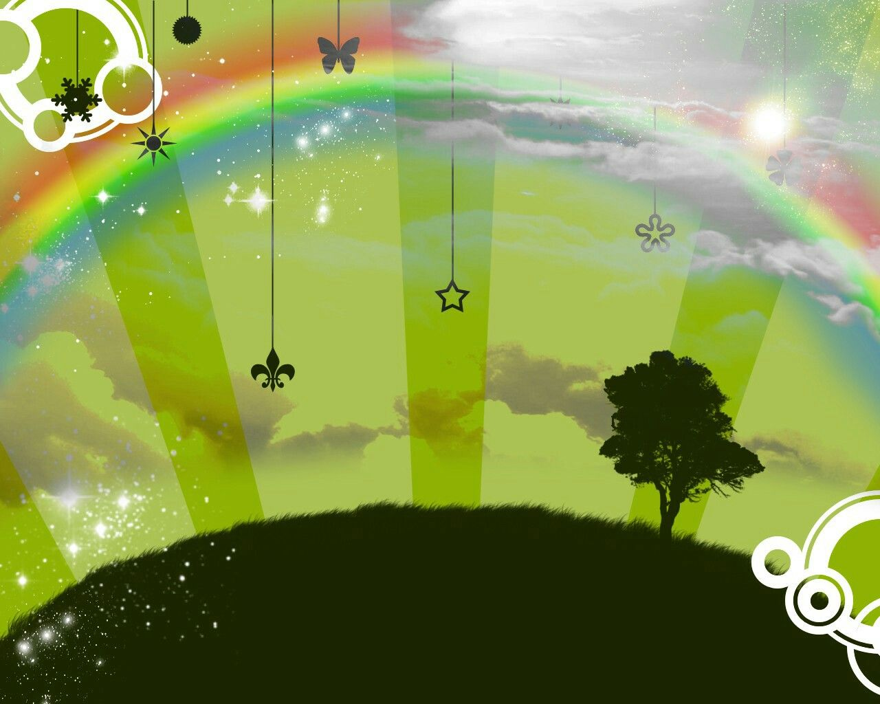 Rainbow World Colorful Background Wallpapers | Colorful Background ...
