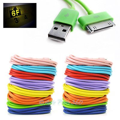 16X 6FT 30PIN USB SYNC DATA POWER CHARGER CABLE CORD IPHONE IPOD TOUCH NANO IPAD https://t.co/O1Bbh53r6e https://t.co/P8S8Mgpxza