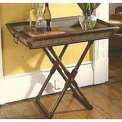 Restoration Hardware Butler Tray Table This Is Not The Mine Stuck In Storage Closest Picture That I Could Find Personally Like