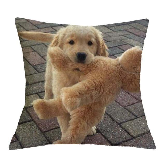 Golden Retriever Pillow Cases Animals Dogs Hunde