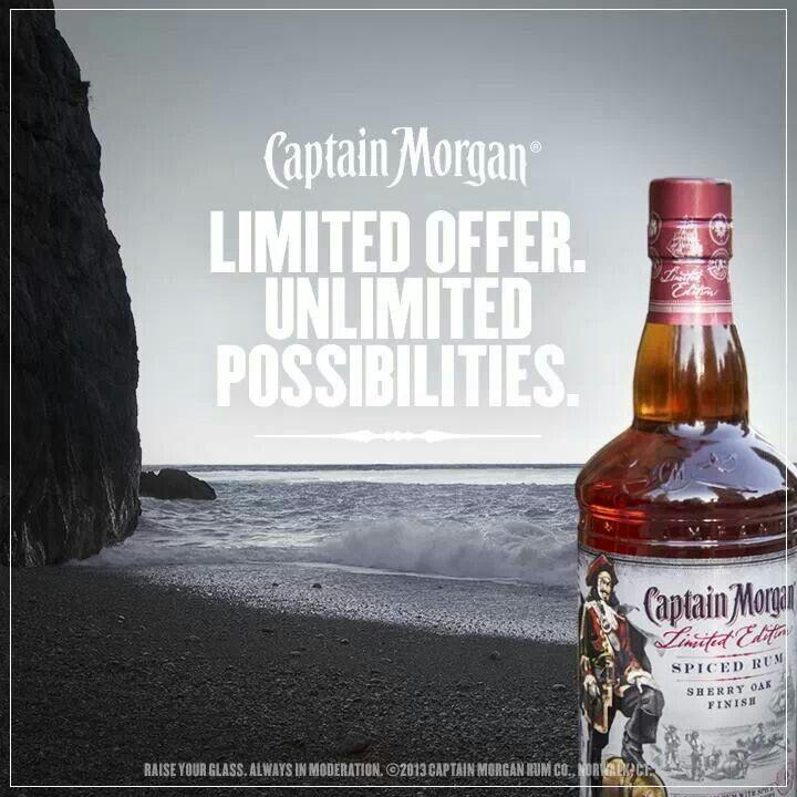 Captain Morgan Limited Edition: Sherry Oak Finish