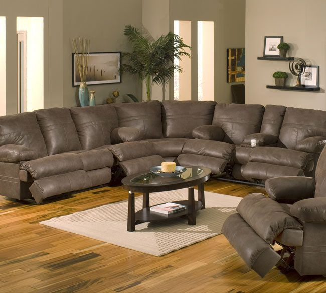 Ranger 379 Chocolate Sectional Catnapper Home Decor In