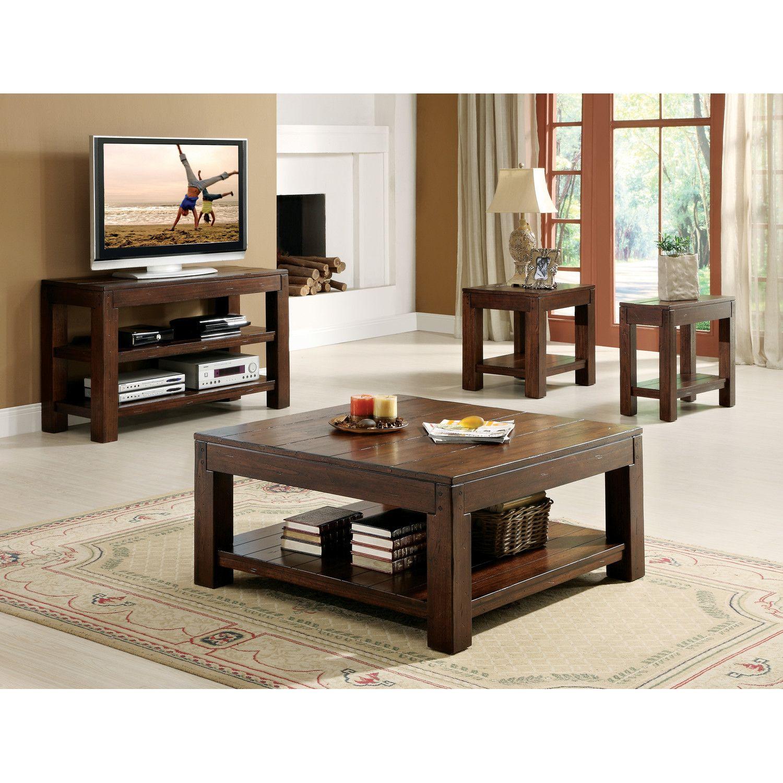 Riverside Furniture Castlewood Coffee Table Set [ 1500 x 1500 Pixel ]