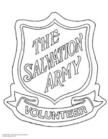 Salvation Army Shield Delightful Doodles Coloring Fun Doodle coloring Coloring books Doodles