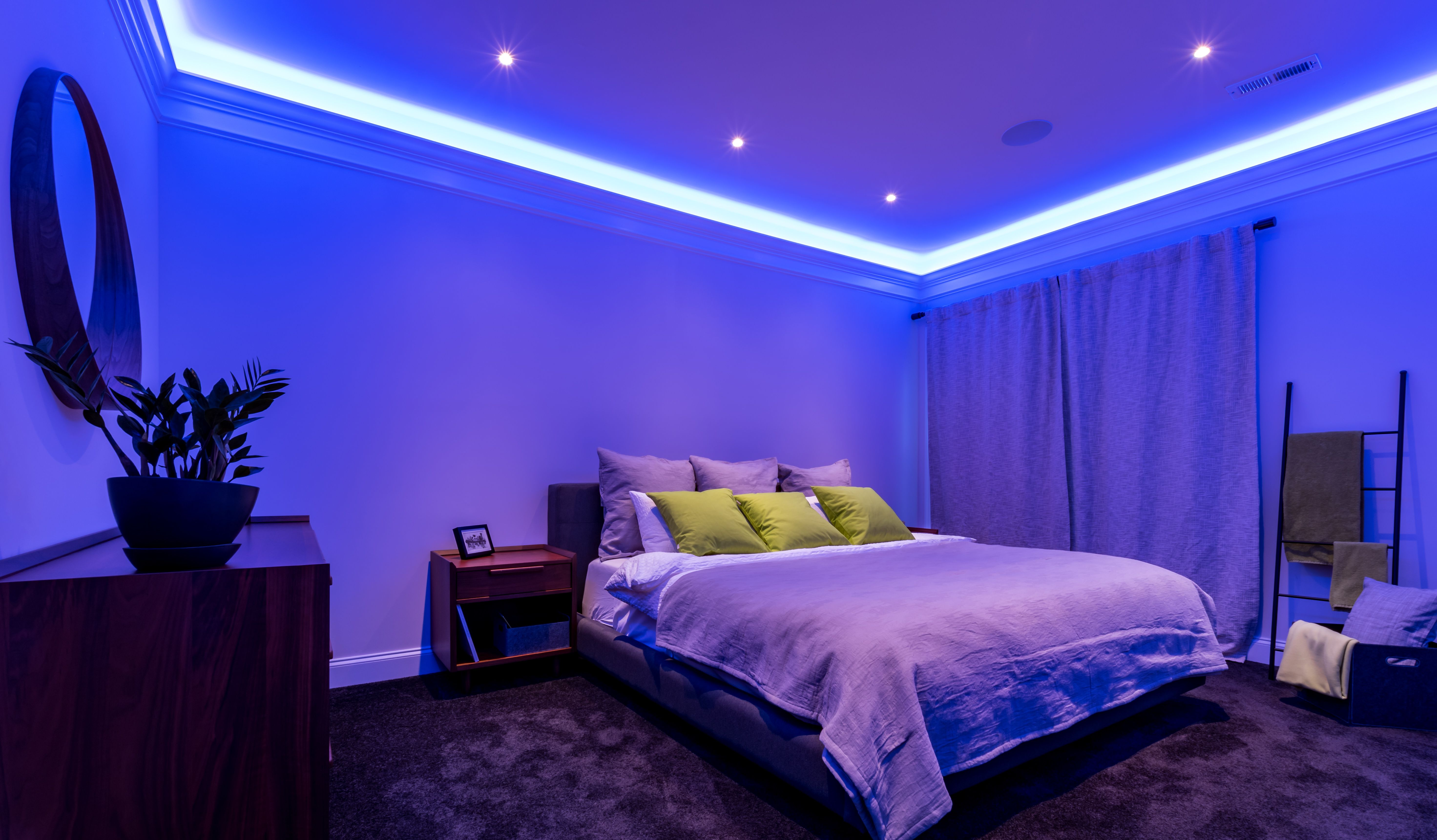 Lichtsteuerung Mit Loxone Atemberaubende Beleuchtung Haus Intelligentes Haus Haus Deko