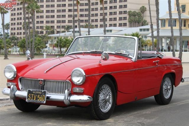 Dude, but convertible mg midget top stunning