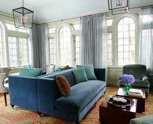 Bring Back Intimacy In A Large Room With Back To Back Sofas Sofa