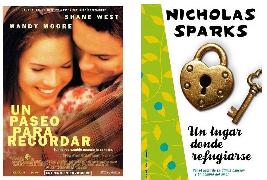 Película Y Libro Un Paseo Para Recordar Nichollas Sparks Online Pdf Http Vahaloya Blogspot Com 2014 08 Pelicu Un Paseo Para Recordar Shane West Sparks