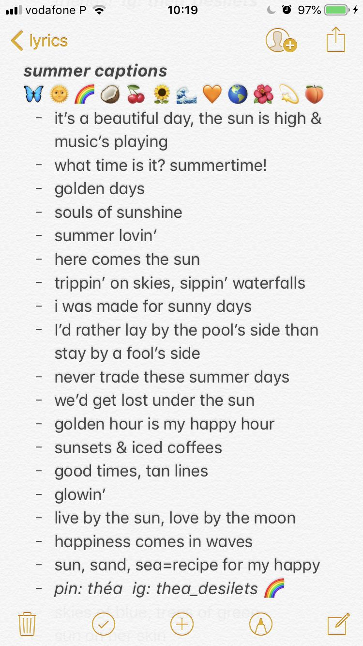summer captions // quotes // insta captions // instagram ...