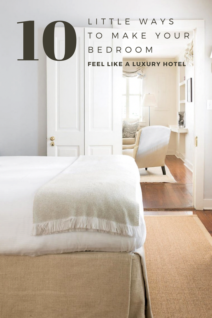 Old window above bed   little ways to make your bedroom feel like a luxury hotel in