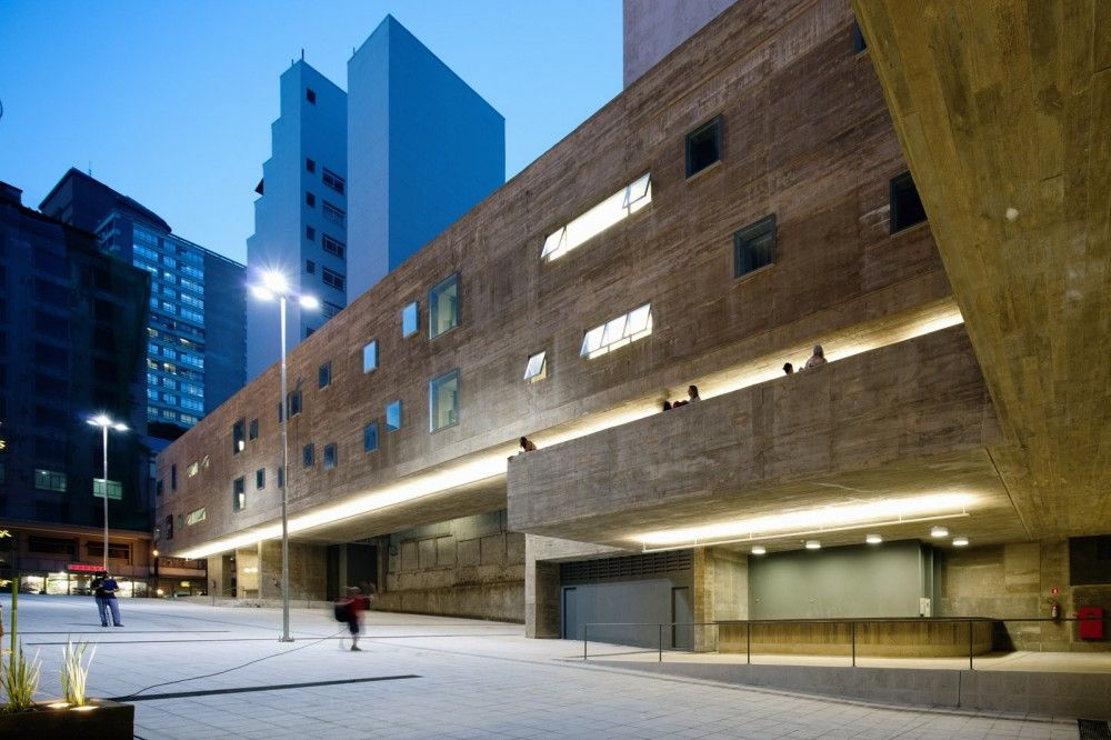 Gallery Of Praca Das Artes Brasil Arquitetura 7 Architecture - Remarkable-contemporary-residence-in-the-sao-paulo-city-centre