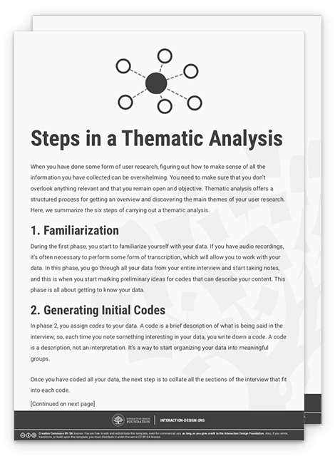 Step In A Thematic Analysi Psychology Note Dissertation Interview Example