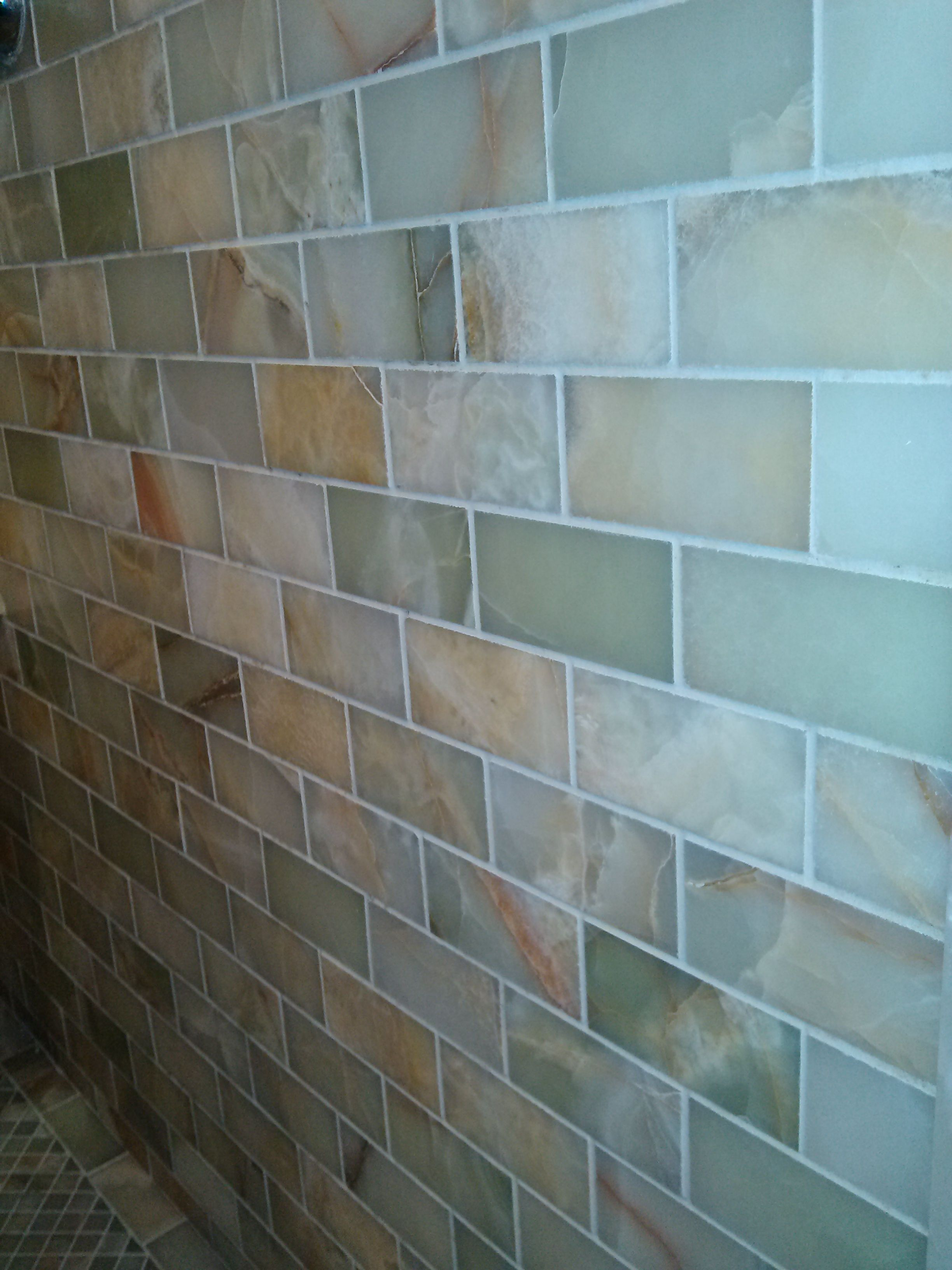 Light green onyx 2x4 wal tile design inspirations maplewood nj light green onyx 2x4 wal green onyxbacksplashtile dailygadgetfo Images