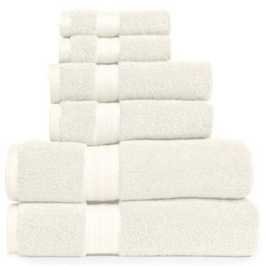 Royal Velvet Egyptian Cotton Solid Bath Towels Jcpenney In 2019