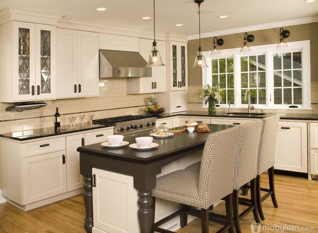 صور مطابخ حديثه و اشكال مطابخ مودرن و مميزه من موبيكان Affordable Kitchen Cabinets Kitchen Remodel Design Traditional Kitchen Remodel
