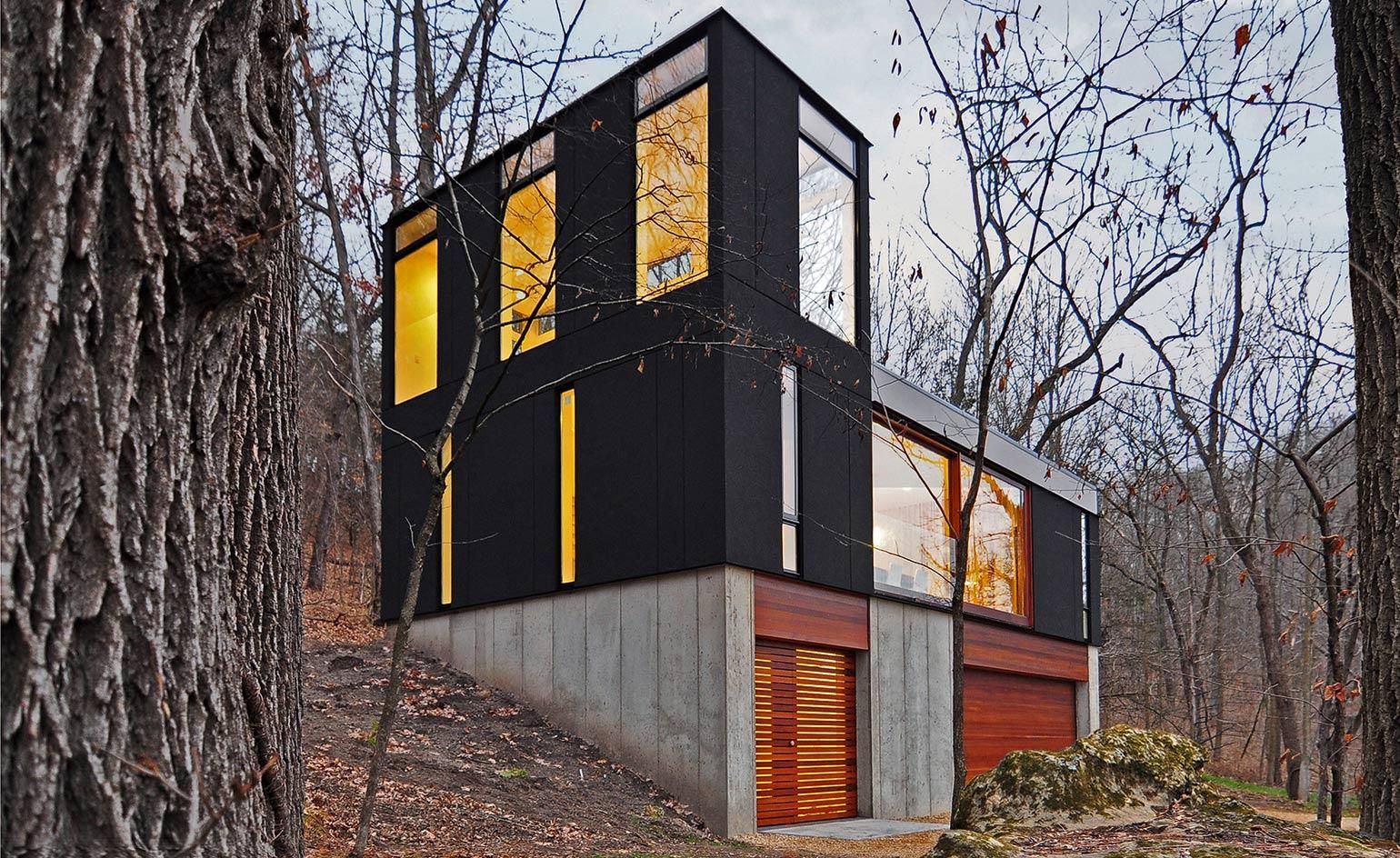 Back To Black The Best In Contemporary Black Architecture Cabin House Plans Small House Design Architecture Architecture