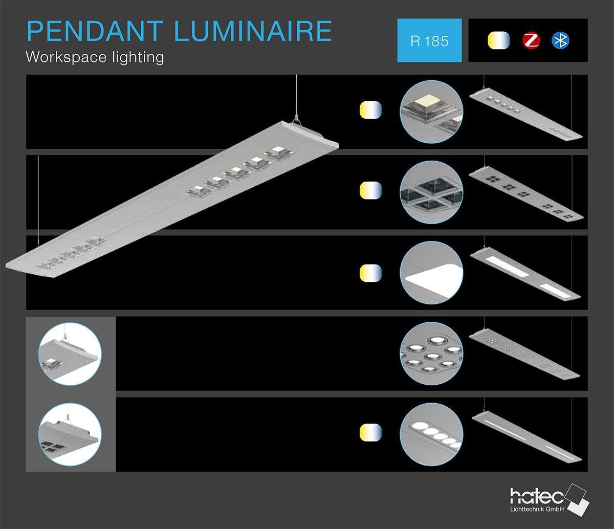 R185 Pendant Luminaire Worskspace Lighting Led Leuchten Led Leuchten