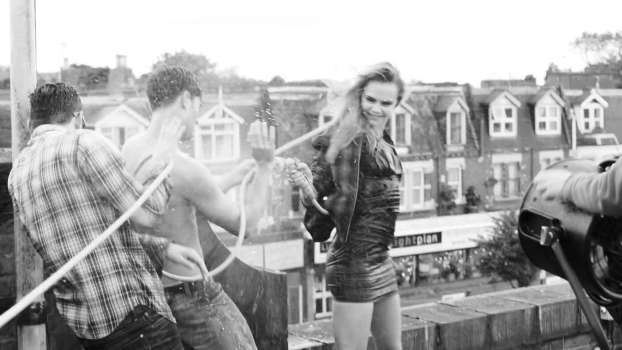Pepe Jeans London - Making Of Fall Winter 2014 campaign ... Cara Delevingne And Paolo Anchisi
