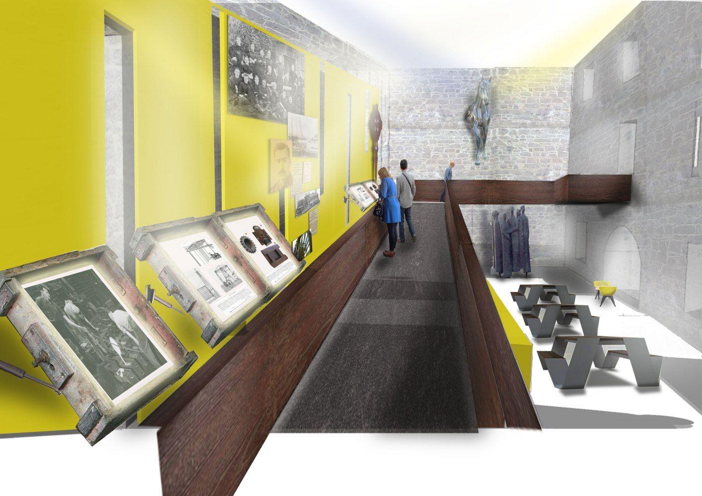 Walkway By Helen Jackson, Interior Design BA(Hons)