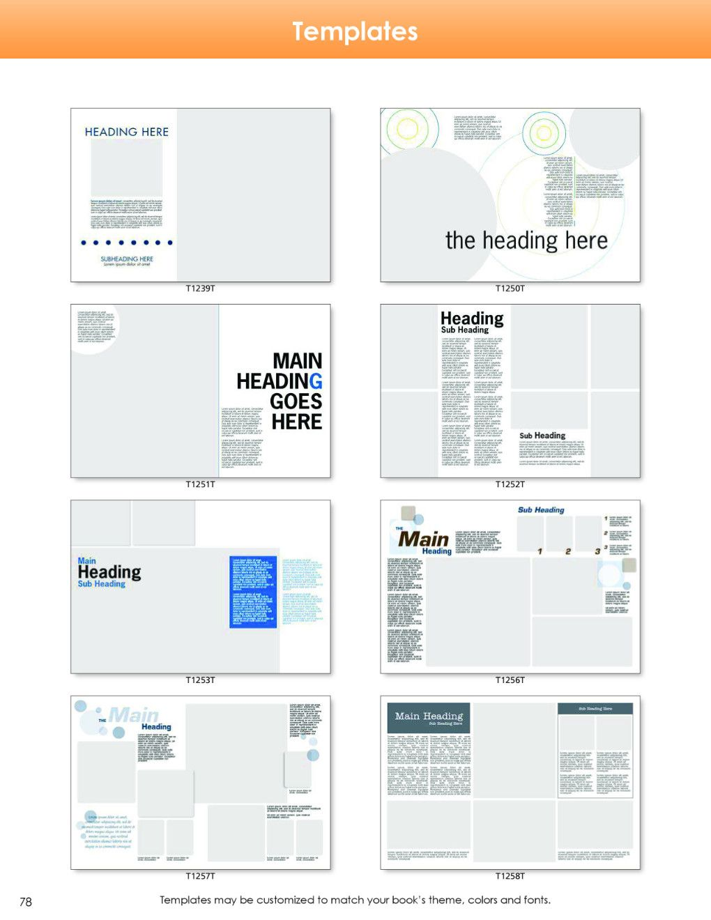 Clipart Backgrounds Templates Fonts YearbookLife Yearbook - Yearbook design templates