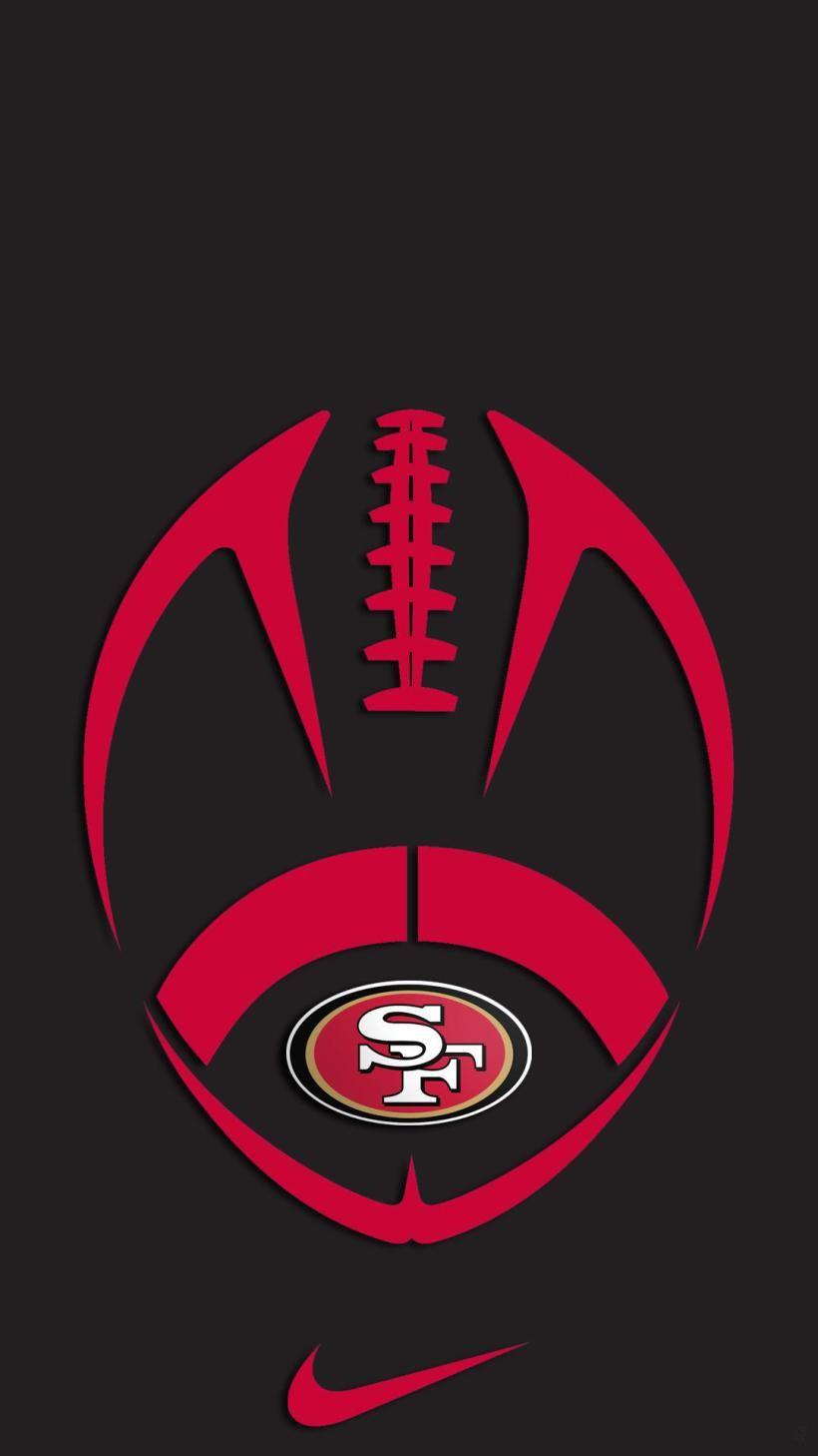 49ers Iphone Wallpaper Jpg 820 1458 San Francisco 49ers Logo San Francisco 49ers 49ers