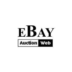 Ebay Launched With This Original First Logo In 1995 Startup Logo Logo Archive Logos