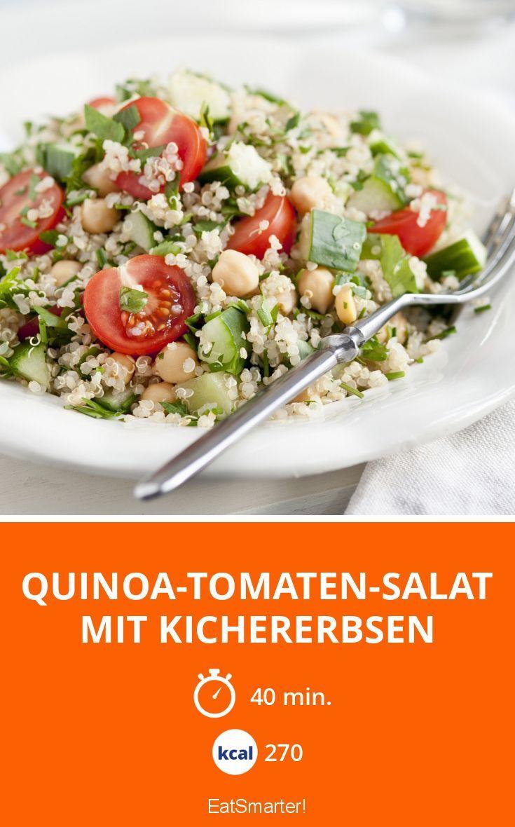 Photo of Quinoa tomato salad with chickpeas