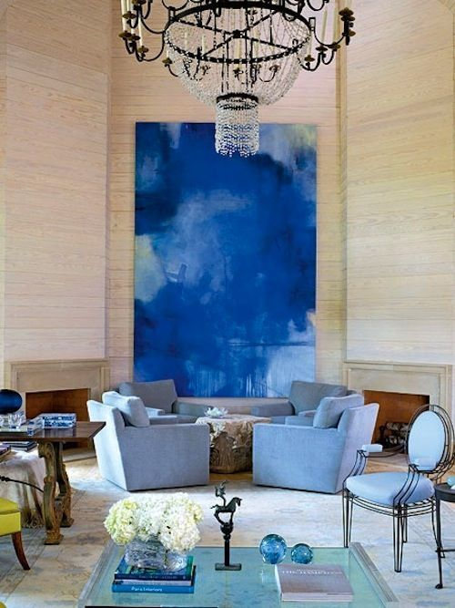 Image Result For Paintings In Blue Living Rooms