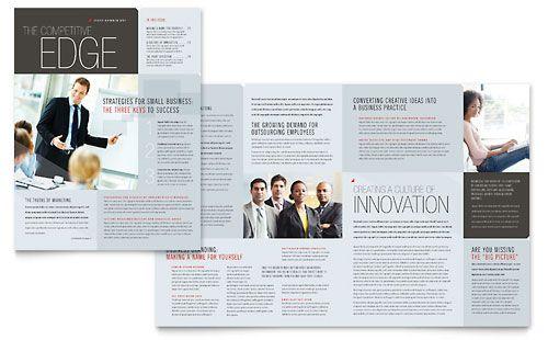 Corporate Business  Newsletter Template Design Sample  Grid