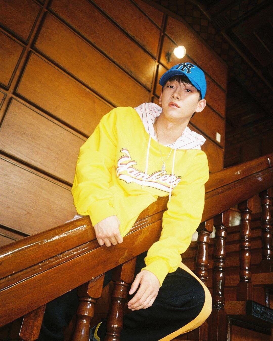 Chen Hq For Mlb Korea Exo Kim Jongdae Baekhyun Chen Exo