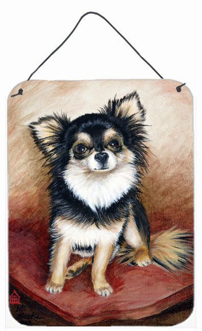 Chihuahua Long Hair Wall or Door Hanging Prints MH1035DS1216
