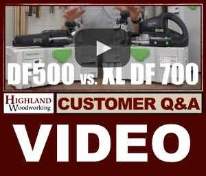 Comparing The Festool Domino Df 500 And Xl Df 700