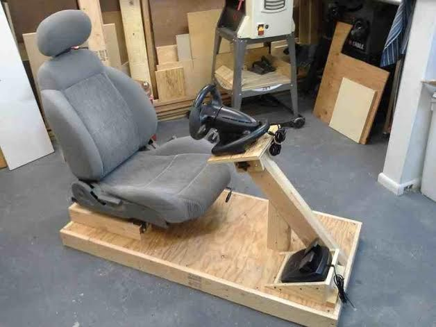 How To Build Your Very Own KickAss Racing Simulator