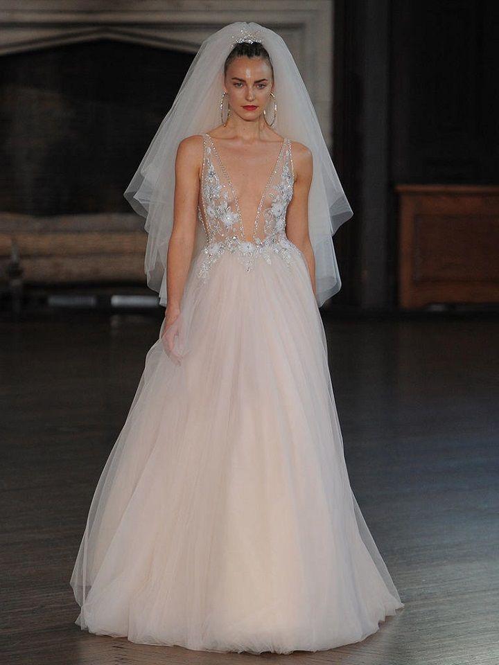 Berta bridal fall 2017 tull skirt | itakeyou.co.uk #wedding #weddingfashion #bridal #weddingdress #weddinggown #bridalgown #weddingdresses #weddinggowns #berta #bridalinspiration #weddinginspiration #engaged