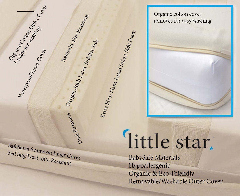 Baby crib mattress amazon - Amazon Com Moonlight Slumber Little Star Organic Crib Mattress Baby