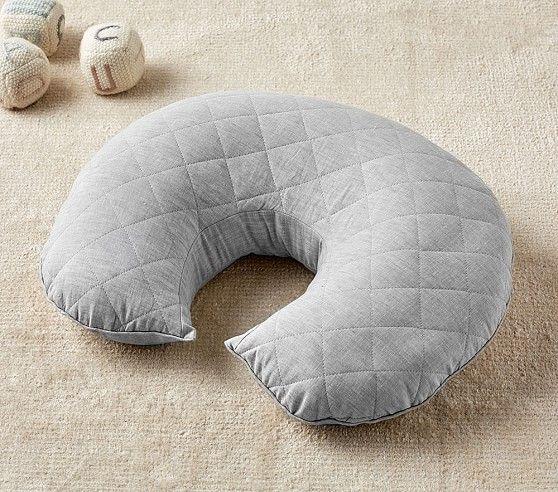Gray Belgian Linen Boppy 174 Nursing Amp Infant Support Pillow