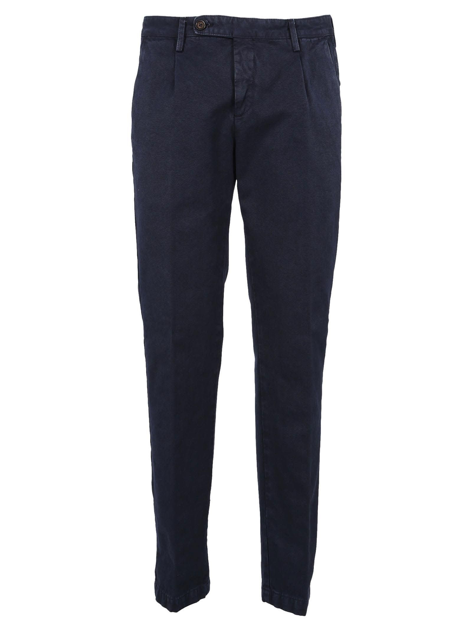 Winch Slim-fit Linen And Cotton-blend Trousers Massimo Alba Outlet Store Sale Online 9czioCYOh