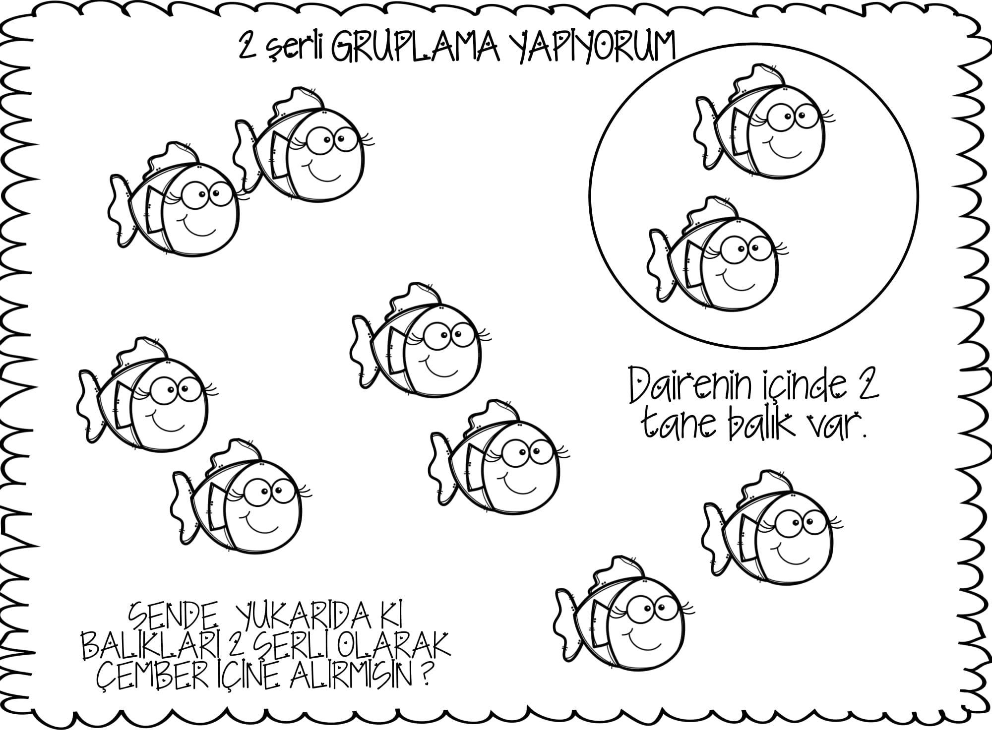 2 Serli Gruplama Temel Matematik