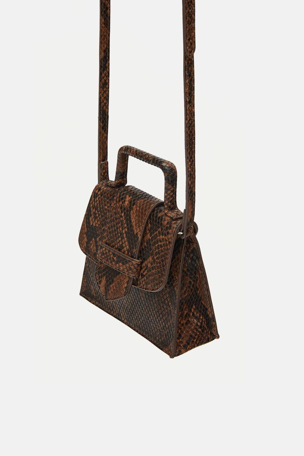 f1950df550 Image 3 of ANIMAL PRINT MINI BELT BAG from Zara