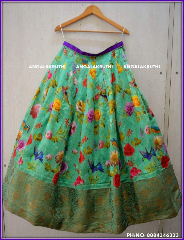 Custom Designer Boutique In Bangalore Angalakruti Baby Girl Dresses Fashion Half Saree
